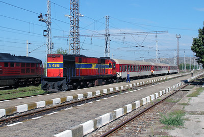 1) OSE, A456 at Kulata on 4th October 2015 working PTG Railtour