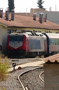 220 031 at Larissa Depot on 6th October 2015