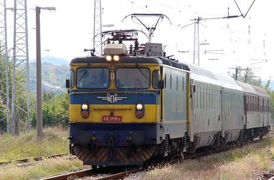 46 208 at Kresna on 4th October 2015 (2)