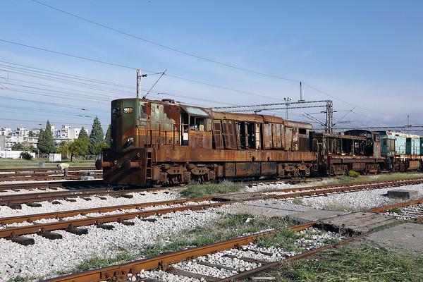 PTG The Montenegro Python (service train railtour) : October 2017