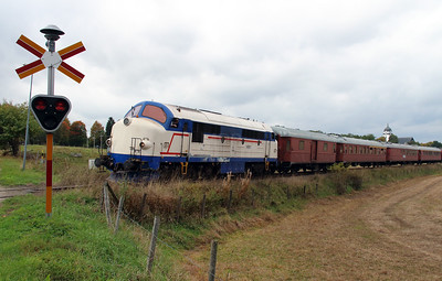 1) Mx 1009 at Allseda on 22nd September 2013 working railtour