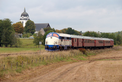 2) Mx 1009 at Allseda on 22nd September 2013 working railtour