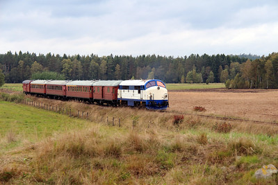 3) Mx 1009 at Allseda on 22nd September 2013 working railtour