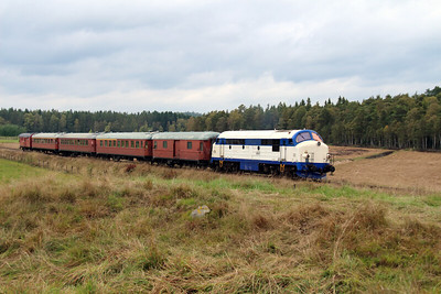 4) Mx 1009 at Allseda on 22nd September 2013 working railtour