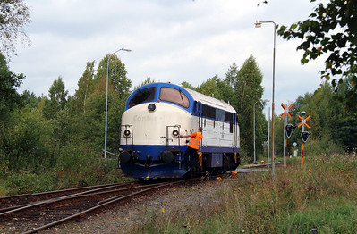 2) Mx 1009 at Kvillsfors on 22nd September 2013 working railtour