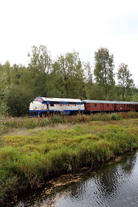 1) Mx 1009 at Aryd on 22nd September 2013 working railtour