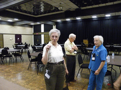 Martha Hatt '69, Paul '59 and JoAnn Hopkins, Professor of Accounting 81'-'99.
