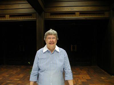 1955 graduate and PUAFA Vice President Barbara Angle.