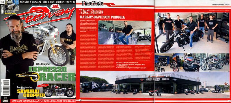 Freeway Magazine #174<br /> New Store Harley-davidson Perugia