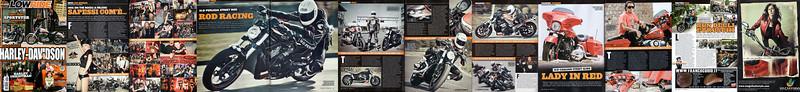 LOWRIDE Speciale Harley-Davidson Dicembre 2010<br /> <br /> Servizi<br /> <br /> NEWS           Hog Inverno<br /> MODIFIED    VRSC<br /> MODIFIED    TOURING HD-CAGLIARI<br /> PUBBLICITA' MAGNITUDO