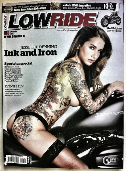 LOWRIDE #50 Agosto 2012