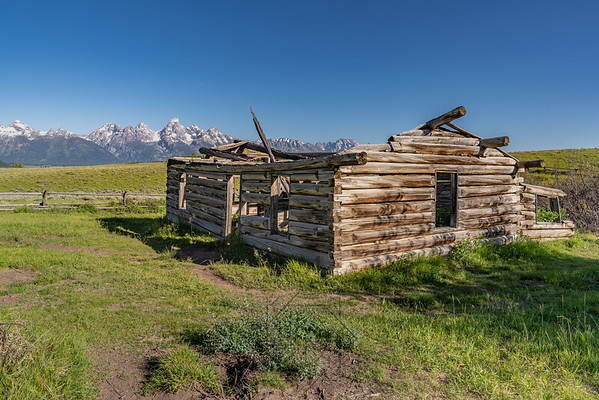 Famous Shane cabin from the 1953 movie
