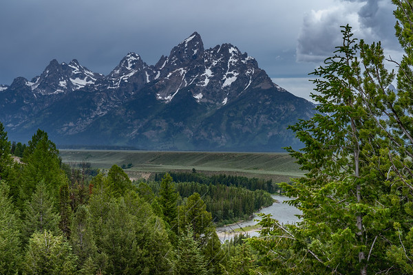View of the Snake River from the Snake River Overlook