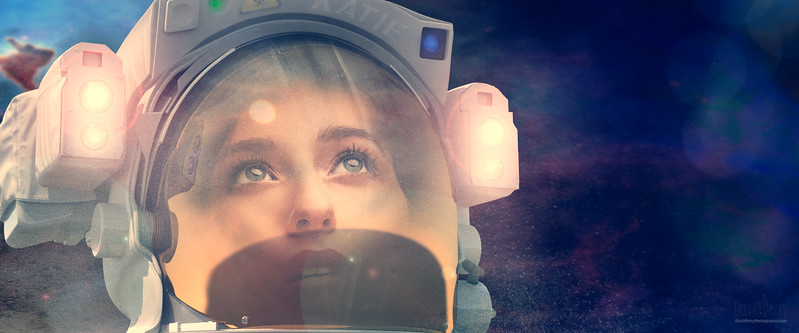 Katie Boone in Space