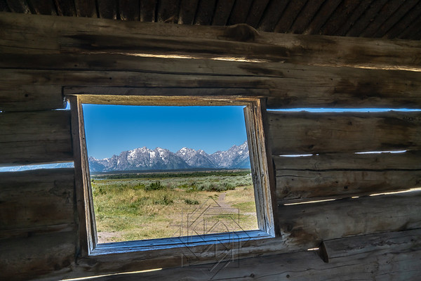 The Cunningham Cabin stands as one of the valley's few remaining structures from the homesteading era when settlers filed nearly 400 claims in Jackson Hole