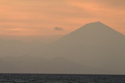 Sunset over Bali