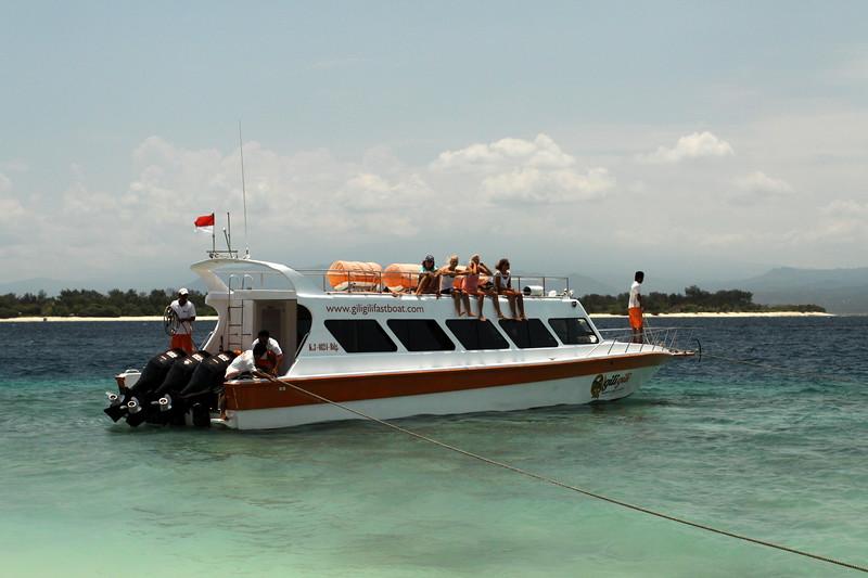Gili Trawangan - Gili Gili Speedboat