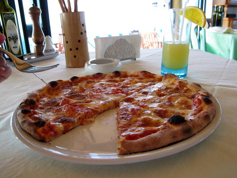 Pizza a dzus za 21$