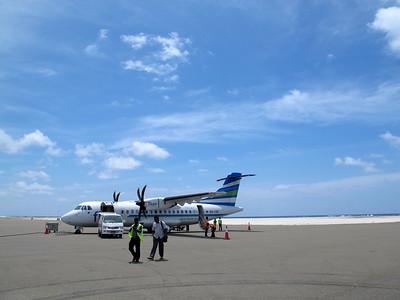 Letiste u Sun Islandu uz dostaveli, takze zadny hydroplan :(