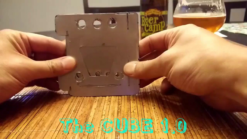 Cube 1.0 - assembly and breakdown