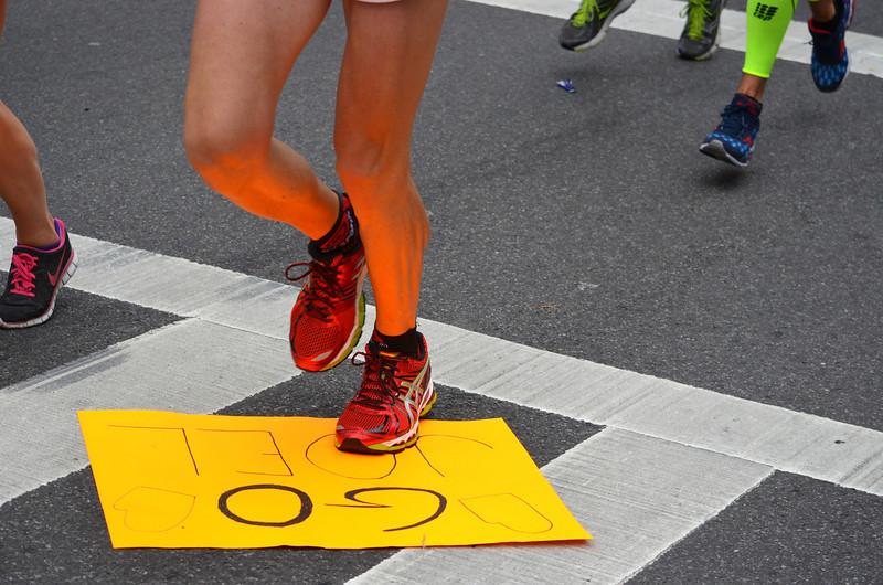 Faces of the NY Marathon 2013