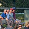 "Ron, Ron, Ron, and Ken.<br /> In the ""best seats"" in the park, behind home plate, on the aluminum bleachers, in a wooden bat league. Top row!<br /> Orleans currently plays its home games at Eldredge Park and has been among the league leaders in attendance in recent years. The Firebirds are owned and operated by the non-profit Orleans Athletic Association, and like other Cape League teams, are funded through merchandise sales, donations, and other fundraising efforts at games such as fifty-fifty raffles."