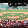"Attendance at the park has not always been great, and reached its low point late in the 1965 season with two games having paid attendance under 500 spectators. <br /> Its fortunes have risen since the Red Sox' 1967 ""Impossible Dream"" season, and on September 8, 2008, with a game versus the Tampa Bay Rays, Fenway Park broke the all-time Major League record with its 456th consecutive sellout. <br /> Former pitcher Bill Lee has called Fenway Park ""a shrine"". Today, the park is considered to be one of the most well-known sports venues in the world."