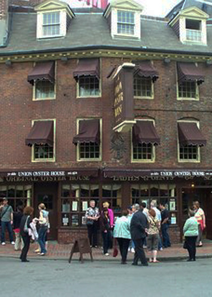 The food is traditional New England fare, including seafoods such as oysters, clams, and lobsters, as well as poultry, baked beans, steak and chops. The toothpick was said to have been popularized in America starting at the Oyster House.<br /> Perhaps most surprising, in 1796 Louis Philippe, king of France from 1830 to 1848, lived in exile on the second floor. He earned his living by teaching French to young women. America's first waitress, Rose Carey, worked there starting in the early 1920s. Her picture is on the wall on the stairway up to the second floor.