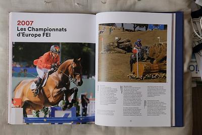 """France, Paris : FLAMMARION/FEI Book, """"anthologie des sports équestres"""" , on August 22th , 2019, in Paris, France - Photo Christophe Bricot"""