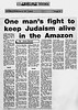 Amazon Jewish Community  Jewish Telegraph  Manchester, England  Feb 26, 1993