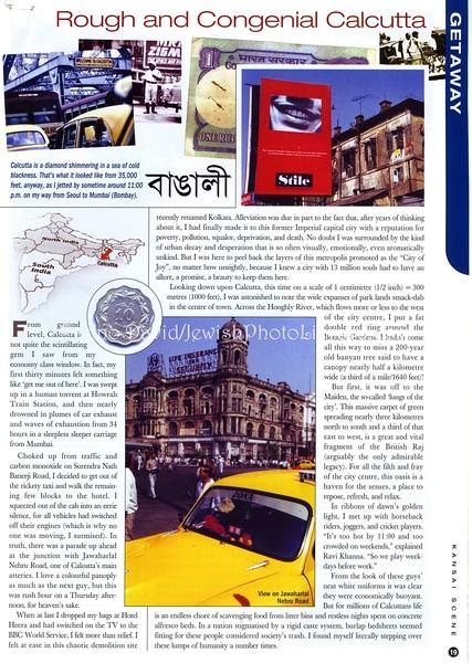 Calcutta  Kansai Scene  Osaka, Japan  Dec 2001  1of4