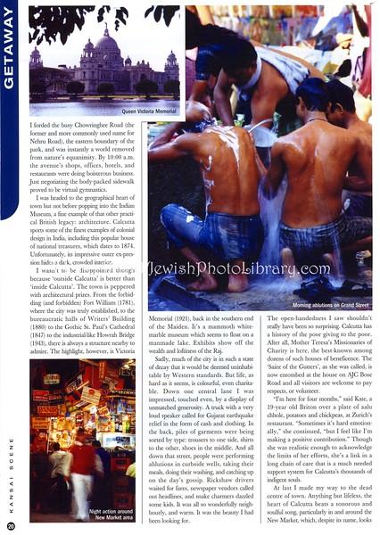 Calcutta. Kansai Scene. Osaka, Japan. Dec 2001