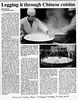 Chinese food  Mainichi Daily News  Tokyo, Japan  May 16, 2000