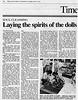 Dolls  Japan Times  Tokyo, Japan  Feb 18, 1999  1of2