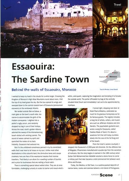 Essaouria. Kansai Scene. Osaka, Japan. Sept 2004
