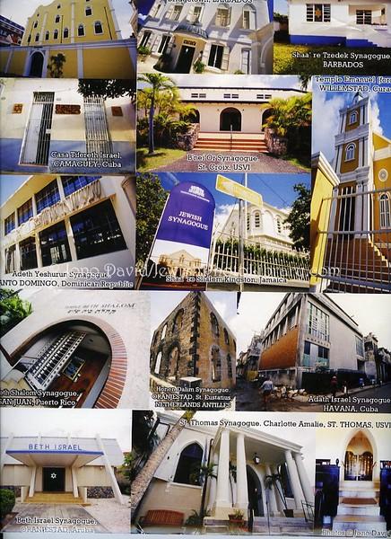 Jewish Diaspora of the Caribbean press kit folder (back)  All photo © Jono David