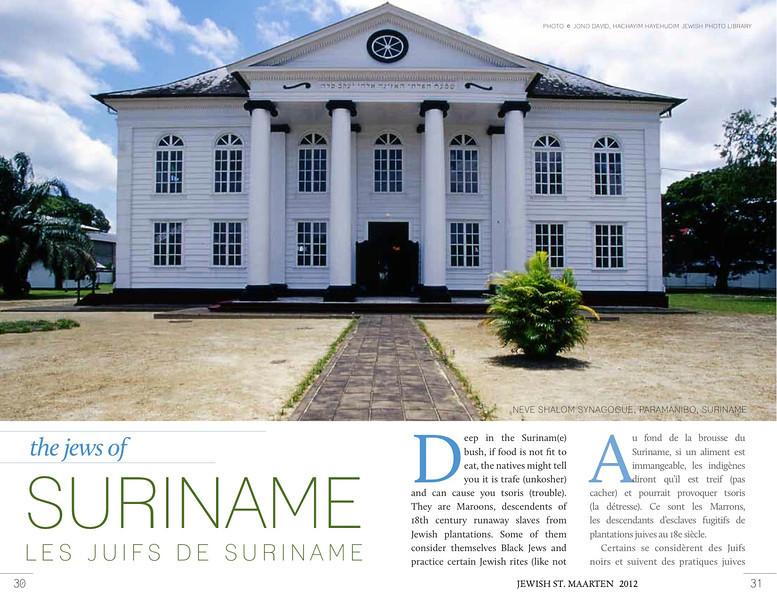 The Jews of Suriname, 1:2