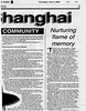 Kosher Shanghai  Mainichi Daily News  Tokyo, Japan  July 6, 2000  2of4