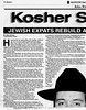 Kosher Shanghai  Mainichi Daily News  Tokyo, Japan  July 6, 2000  1of4