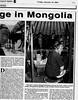 Mongolia  Mainichi Daily News  Tokyo, Japan  Jan 19, 2001  2of4