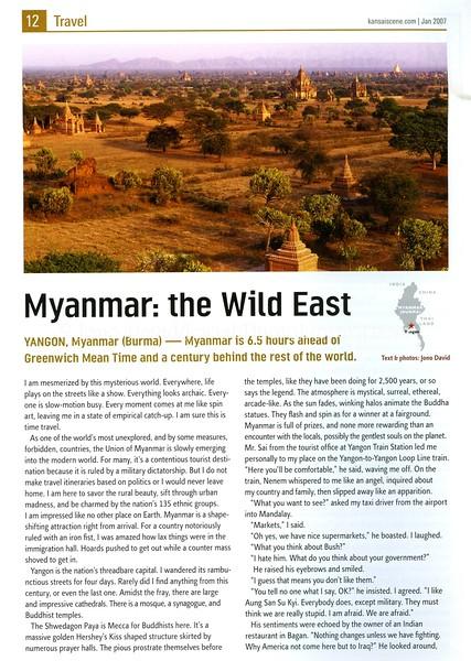 Myanmar, Kansai Scene  January 2007  1of2