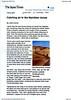 Namibia sand dunes  Japan Times  Tokyo, Japan  Nov 22, 2000  1of4