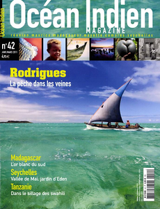 OCÉANS INDIEN MAGAZINE - Cover January to march 2011