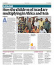 How the Children of Israel are Multiplying in Africa and Asia  The Jewish Chronicle (UK), August 26, 2016