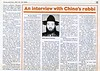 Shanghai Rabbi  Chicago Jewish News  Chicago, IL, USA  May 19-25, 2000  1of2