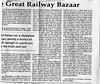 Trans-Siberian Railway (PART 3of3)  Mainichi Daily News  Tokyo, Japan  Dec 18, 1997  2of2