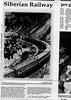 Trans-Siberian Railway (PART 1of3)  Mainichi Daily News  Tokyo, Japan  Dec 4, 1997  2of2