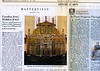 Bevis Marks Synagogue  Wall Street Journal  New York, NY, USA  Sat:Sun, Oct 28-29, 2006