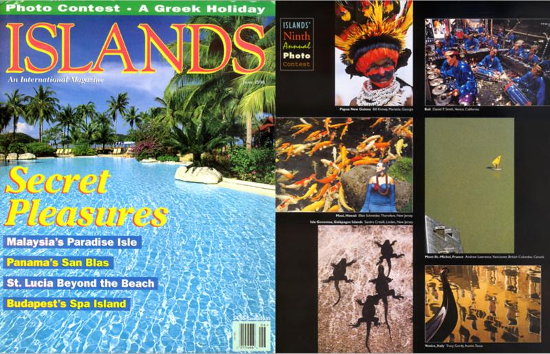 Island magazine, USA