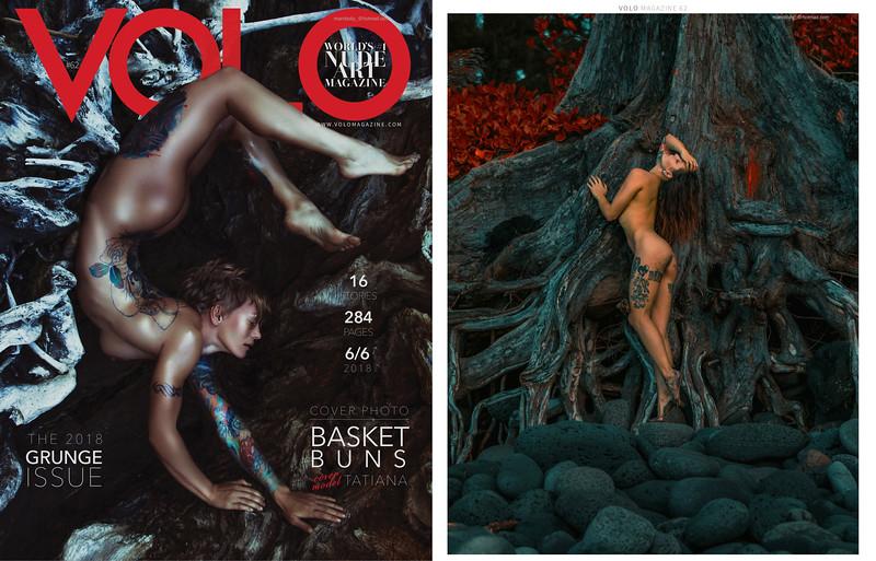 Volo Magazine   Issue 62   Grunge Issue  Esha Marie